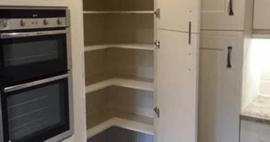 Вот каким должен быть угловой шкаф на кухне!
