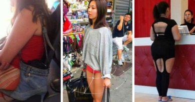 17 безумных уличных модников, на которых вы не рискнёте посмотреть дважды