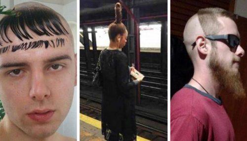 20 раз, когда люди хотели сделать себе крутую причёску, а получилось как всегда