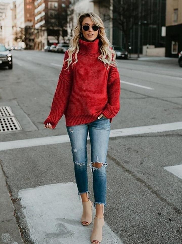 30 образов с джинсами, которые растопят сердце каждой модницы