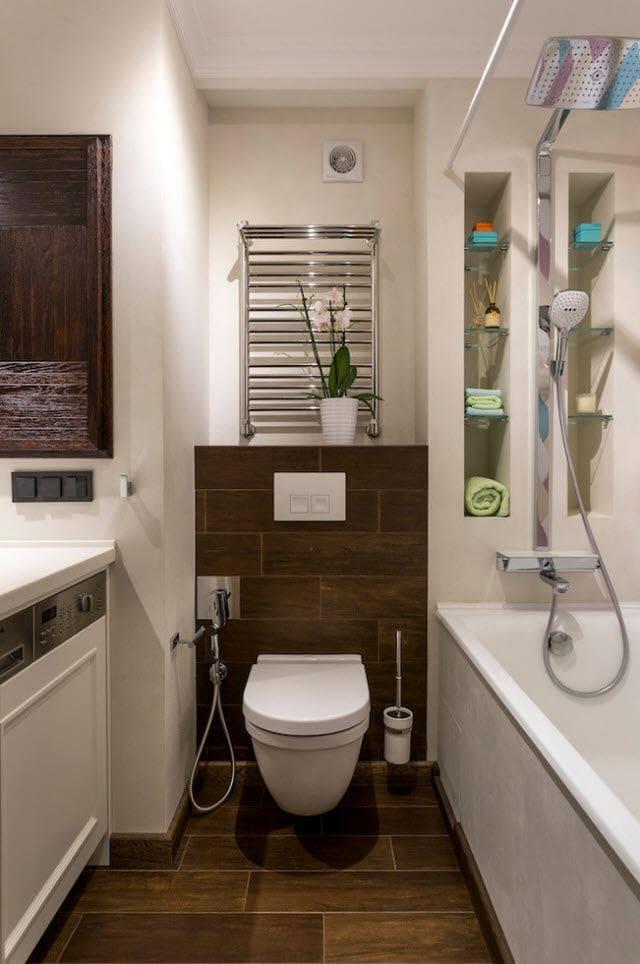 Полки в ванной: всегда практично и функционально