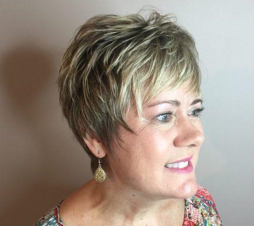 20 растрепанных причесок для женщин старше 50 лет с тонкими волосами