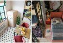 Квартира-студия 28м² с яркими акцентами