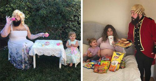 дуэт отца и 2-летней дочки покоряет соцсети