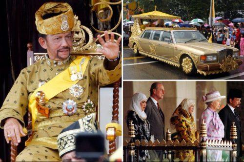 Каких масштабов может достичь фантазия султана Брунея, у которого есть несметные богатства
