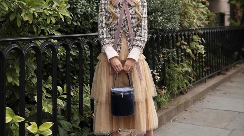 С чем носить юбку ниже колена: 35 стильных образов