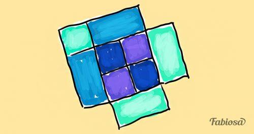 Тест на внимательность: сколько квадратов на рисунке?