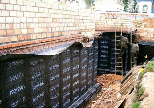 Зачем необходима гидроизоляция фундамента? — Дом. Ремонт. Дизайн