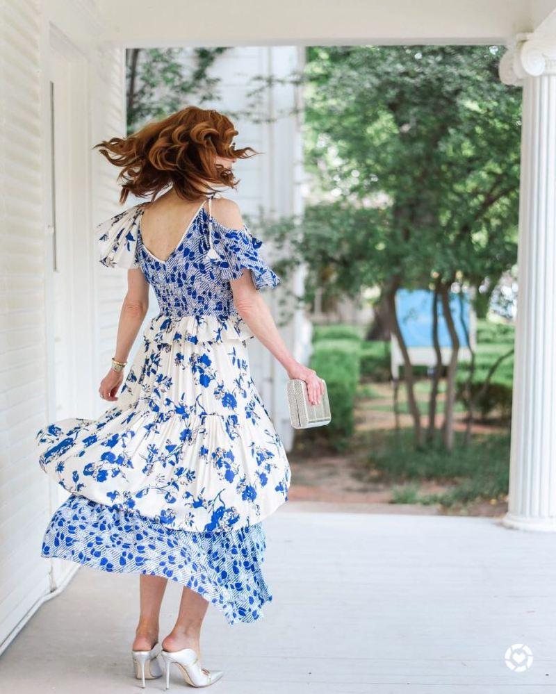 Летние платья для женщин 50 лет фото 8