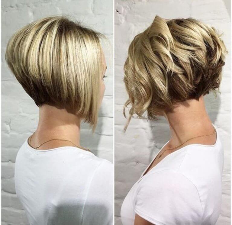 Стрижки на средние волосы после 40  фото 2