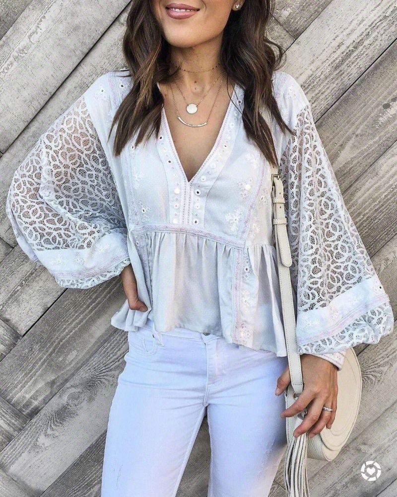 летние блузки фото 13