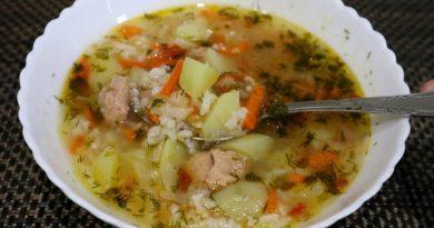 Суп из тунца за 30 минут