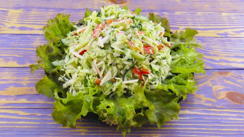 Салат из rапусты за считаные минуты!