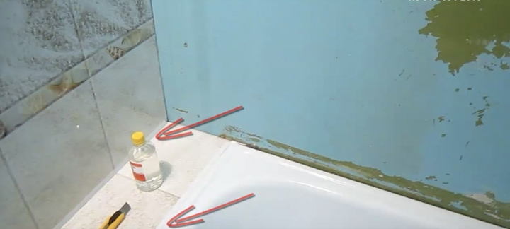 отделка стен в ванной за 1 день