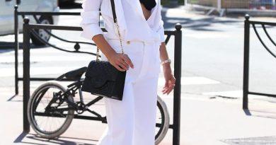 Как и с чем носит белые джинсы