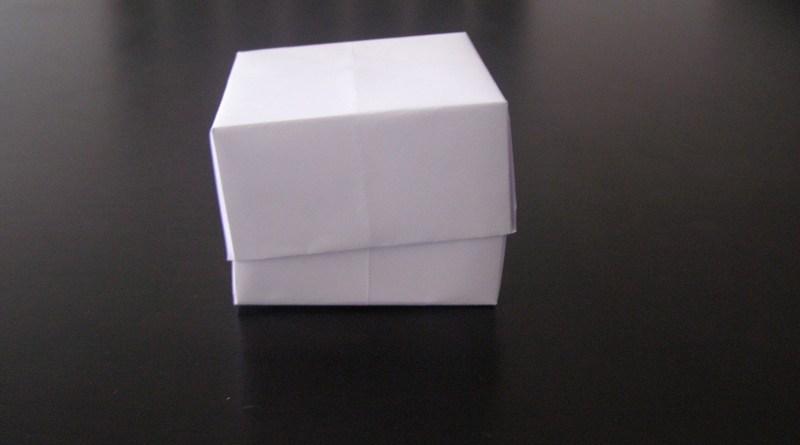 Коробка из листа бумаги А4