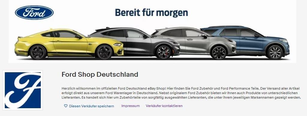 Ford eröffnet mit eBay Shop neuen Vertriebskanal Foto: Ford