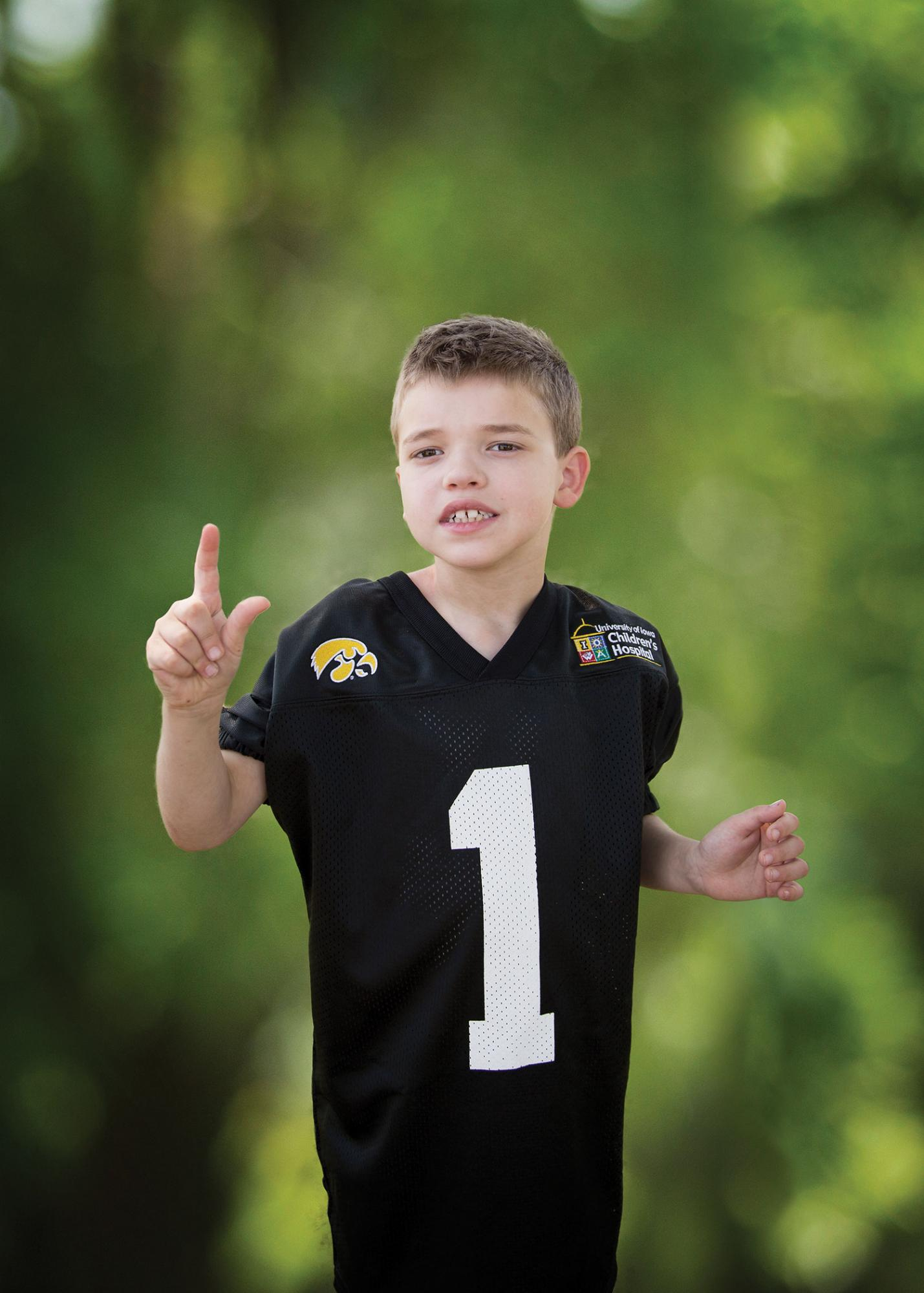 Council Bluffs Boy 9 To Be Honorary Kid Captain When