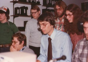 Jim DeWindt on the job in 1979.