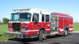 Kentwood Fire Department s new truck - Engine 53.