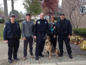 WKTV would like to thank the K-9 Unit for spending time with us!