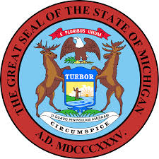 Great seal State of Michigan