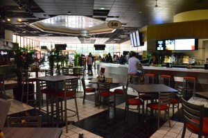 Oscar's Bistro brings a restaurant, along with a full bar, to the movie scene.