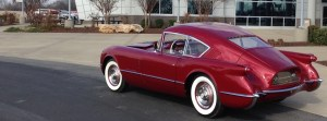 The recreated 1954 Chevy Corvair Concept Car has won several awards and you'll see why.