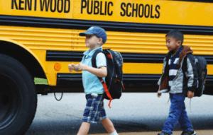 Kentwood Public Schools Bus