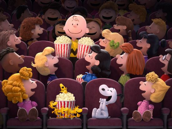 Charlie Brown, Snoopy, and Co. are back with style in The Peanuts Movie.