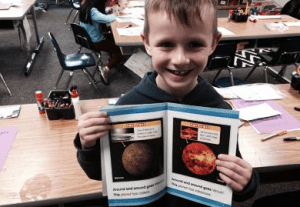 Students studied stars, planets and meteors