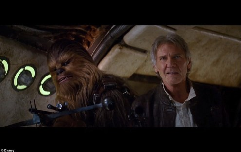 """Chewie, we're home..."" RAWWRR!"