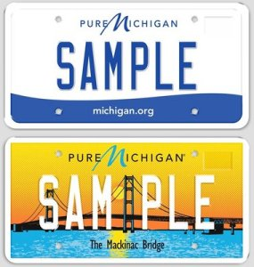 Visit The Branch Office Michigan License Plates