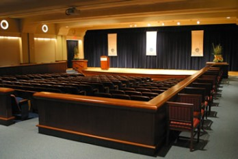 Loosemore Auditorium at GVSU's Downtown Campus