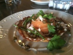 Cured Salmon at The Winchester - Promote Michigan