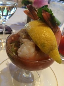 Gazpacho Shrimp Cocktail at Country Club of Boyne - Promote Michigan