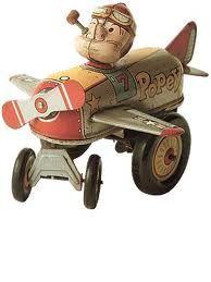vintage toy popeye