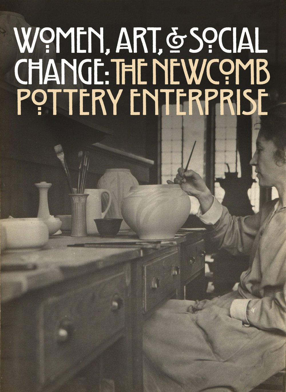 newcomb women Newcomb pottery was manufactured by students at sophie newcomb memorial college in louisiana and provided a suitable way for young women to enter the workforce it is highly sought after for its soft glazes and often muted patterns.