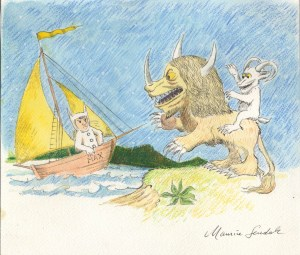 "The Grand Rapids Art Museum opens ""Maurice Sendak: Where the Wild Things Are"" on April 9."
