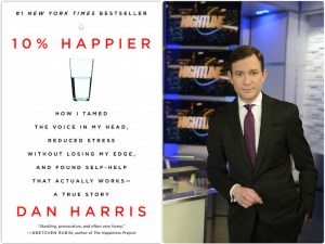 Anchor Dan Harris and his new book.