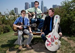 The New West Guitar Group features John Storie, Perry Smith and Will Brahm.