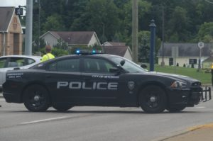 Wyoming Public Safety Department blocks off northbound Byron Center Avenue at 52nd Street.