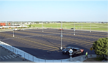 The Gerald R. Ford International Airport's North Lot is now open.
