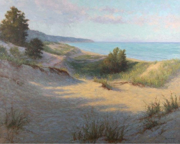 "Kathleen Kalinowski's ""Michigan Dunes"""
