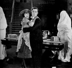 "Buster Keaton's ""The Haunted House"" will be featured in the opening concert."