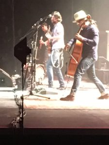 The Avett Brothers on stage at Grand Rapids Van Andel Arena Nov. 11. (K.D. Norris)