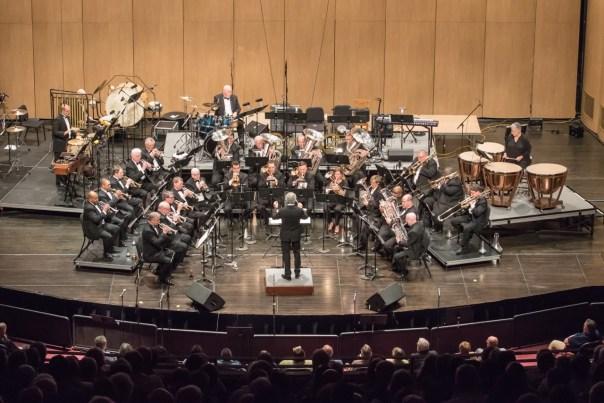 Brass Band of Battle Creek performs Dec. 2 at Van Singel Fine Arts Center.