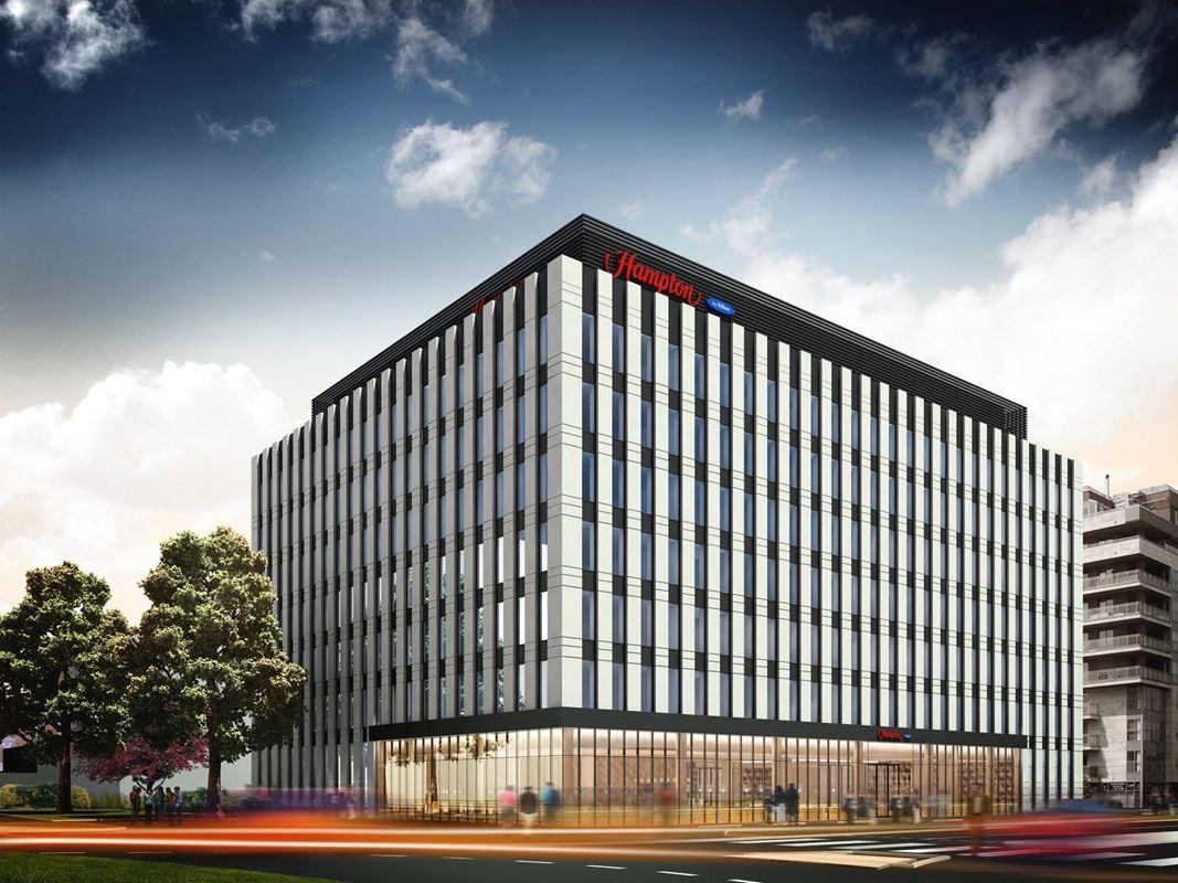 hampton by hilton kenworth wiring diagrams t600 trzeci hotel sieci w stolicy powstanie