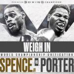Spence Porter weigh in poster