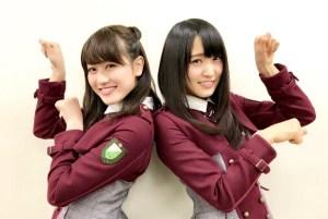 菅井友香さんと守屋茜さん
